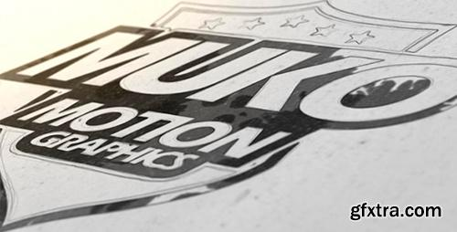 Videohive Clean Draw And Ink Logo