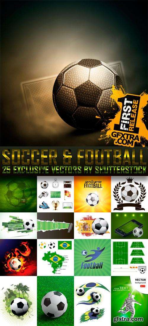 Amazing SS - Soccer & Football, 25xEPS