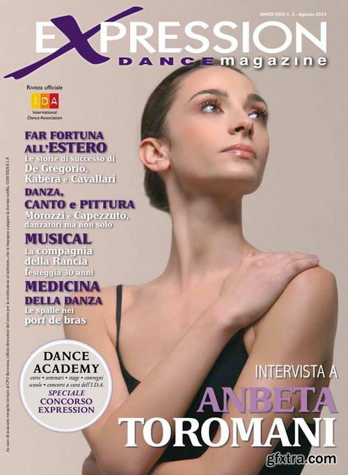 Expression Dance Magazine N.3 Agosto 2013