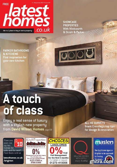 Latest Homes UK No.644, 9 September 2013