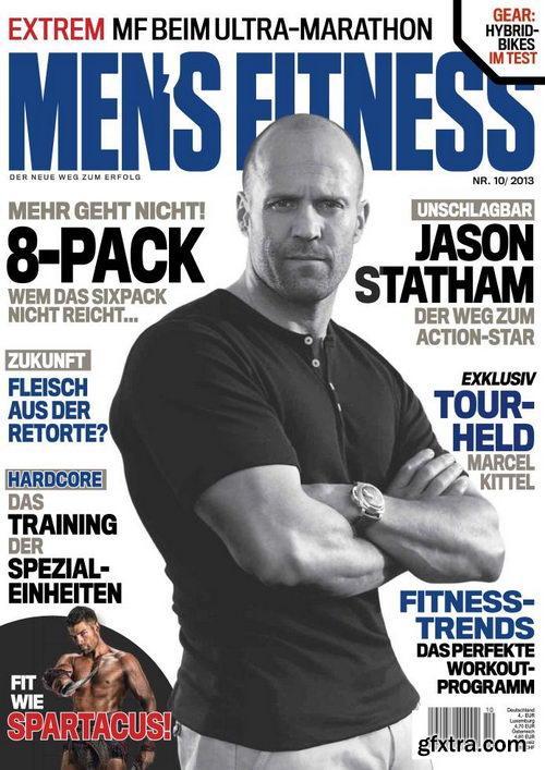 Men\'s Fitness Magazin Oktober No 10 2013