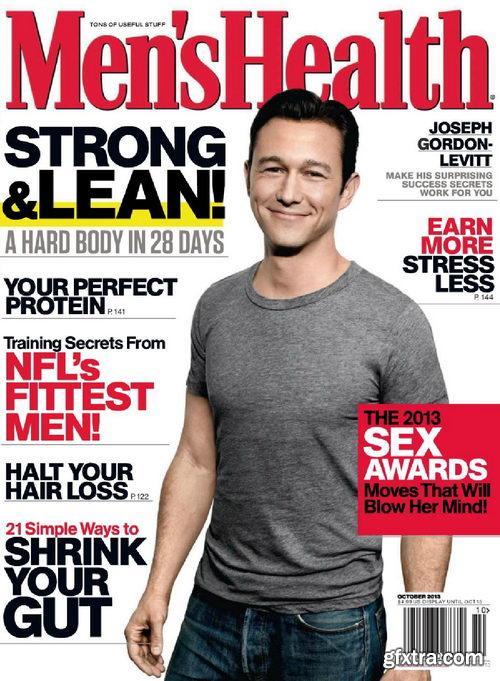 Men\'s Health USA - October 2013