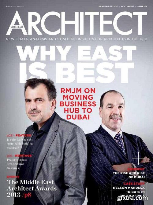 Middle East Architect Magazine September 2013