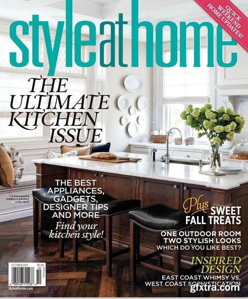 Style at Home Magazine October 2013