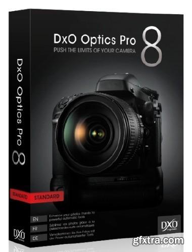 DxO Optics Pro 8.3.1 Build 320 Elite (x86/x64)