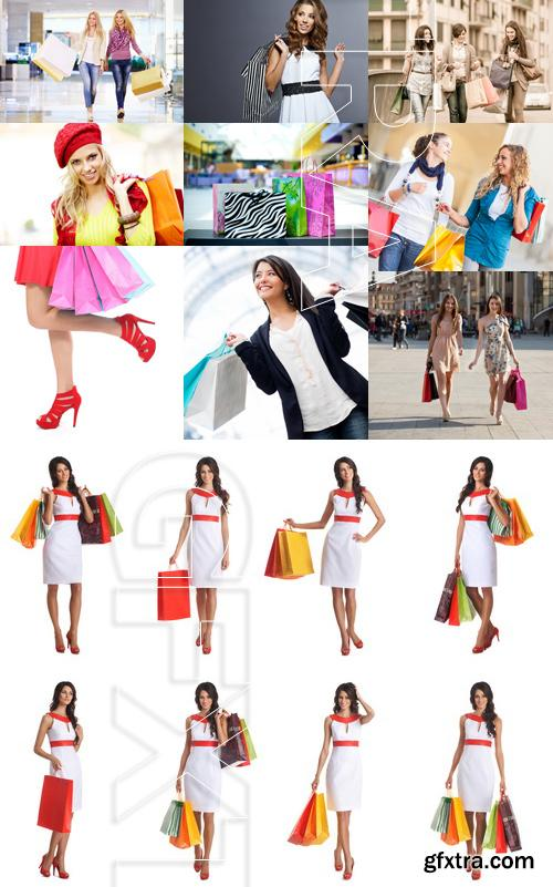 Amazing SS - Woman with shopping bags 4, 25xJPGs