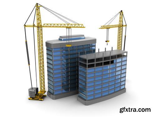 Amazing SS - 3D building model 3, 25xJPGs