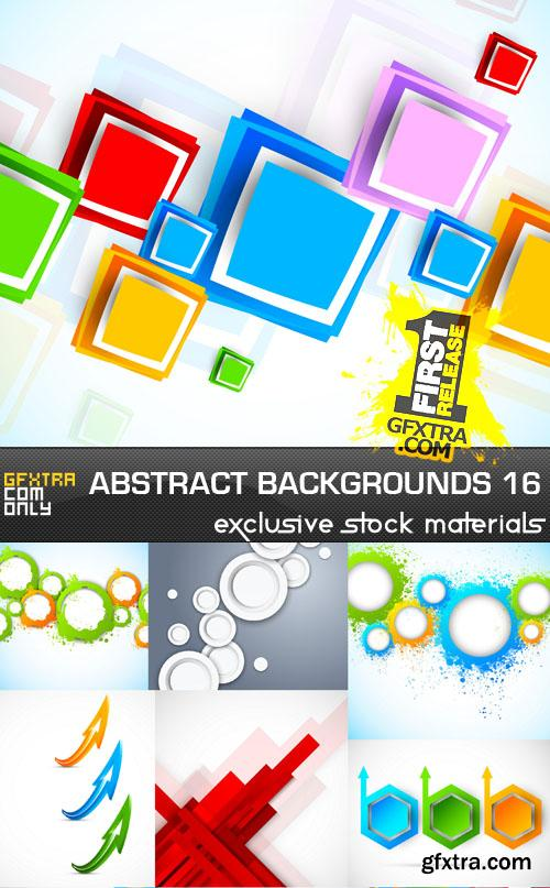 Collection of vector abstract backgrounds vol.16
