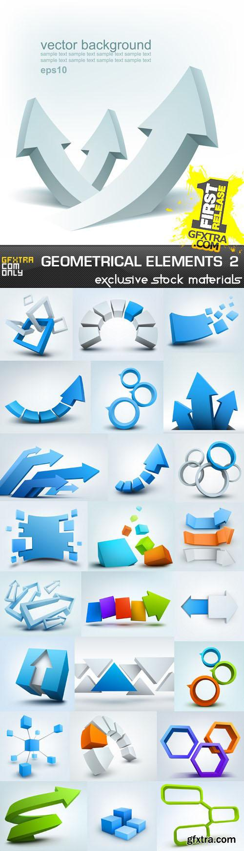 Collection of geometric design elements vol.2