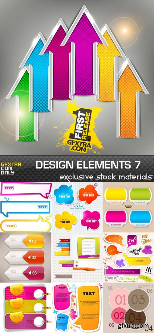 Collection of vector design elements vol.7