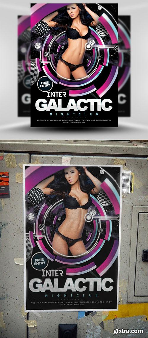 Inter Galactic Flyer Template