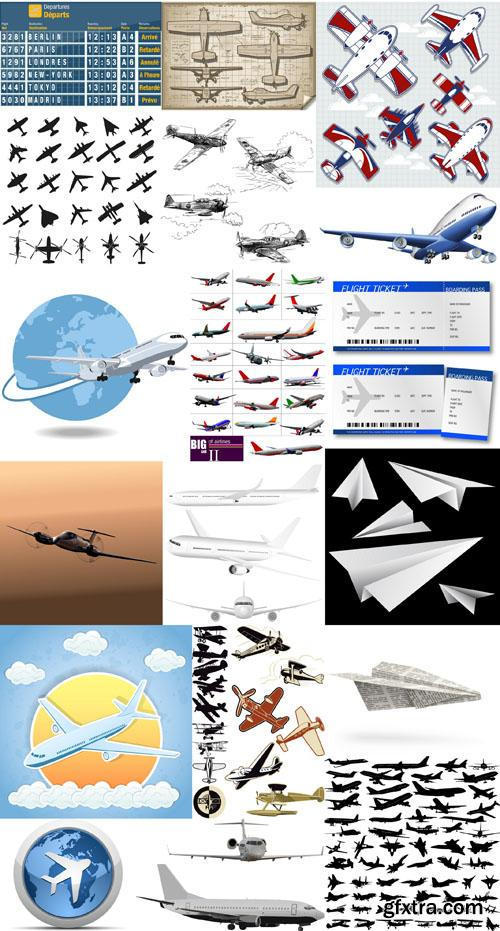 Airplanes collection