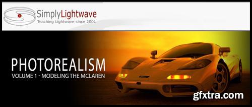 Simply Lightwave - Photorealism Volume 1 - Modeling the McLaren