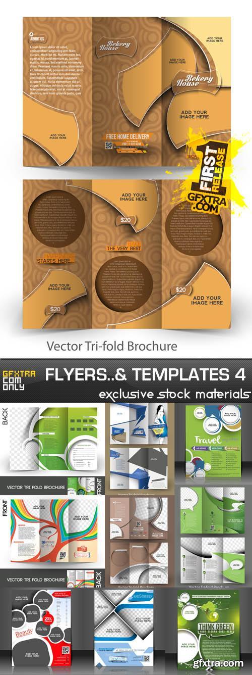 Templates and brochures vol.4
