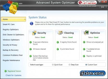 Advanced System Optimizer 3.5.1000.15559