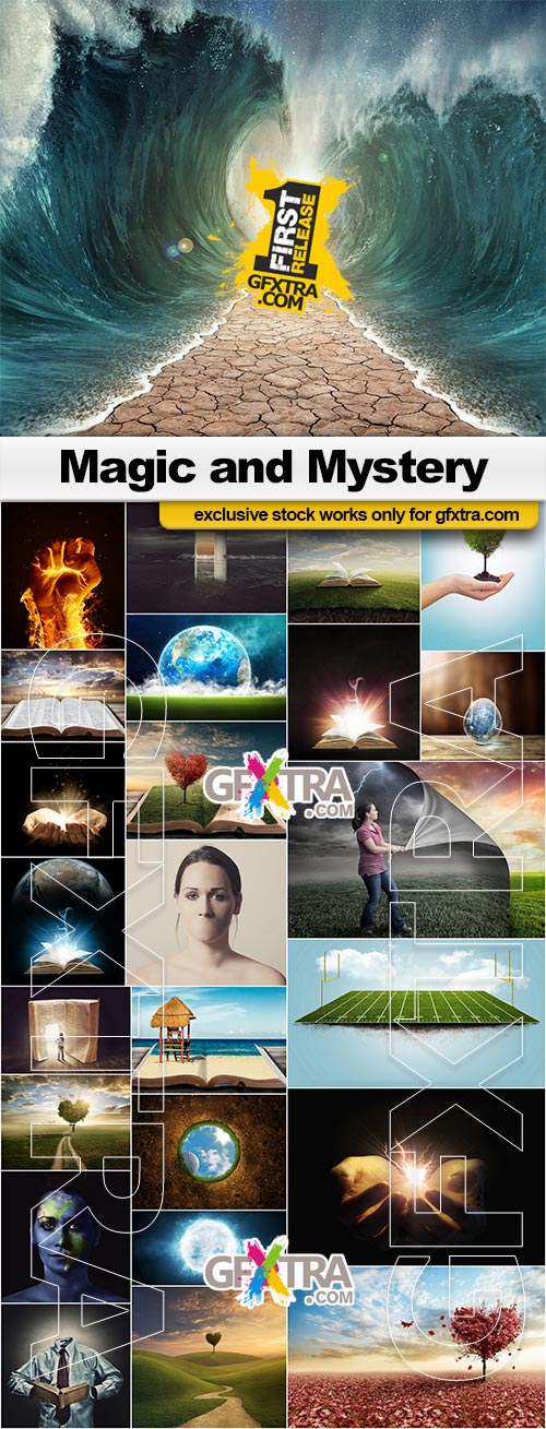 Magic and Mystery - 25x JPEGs
