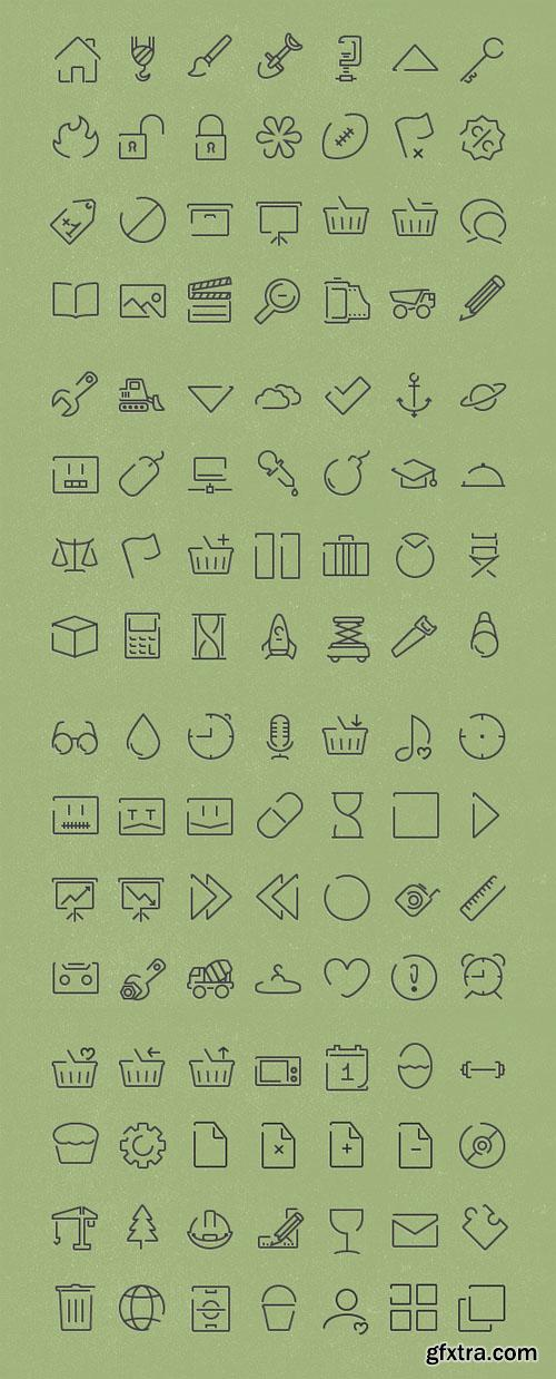 Vector Minimal Icons