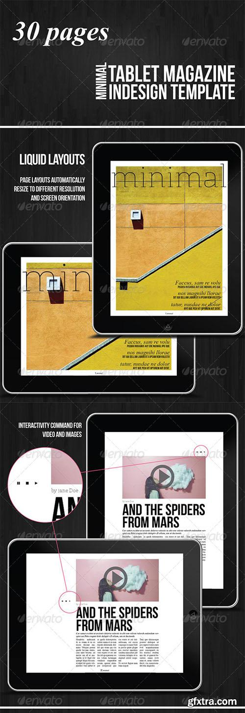 Tablet 30 Pages Minimal Magazine