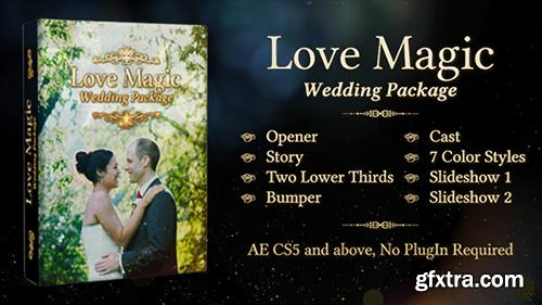 Videohive Love Magic Wedding Package