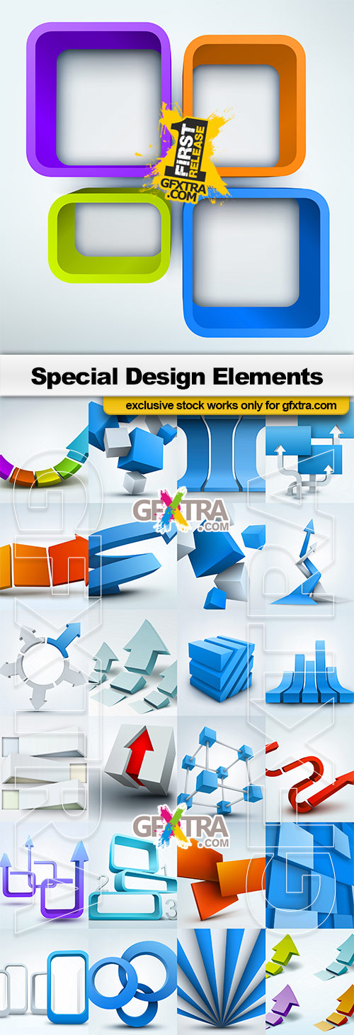 Special Design Elements - 25x EPS