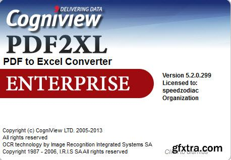 CogniView PDF2XL Enterprise 5.2.0.299 Portable