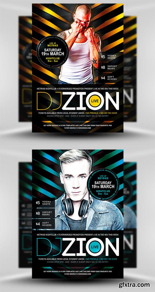 Zion Flyer Template