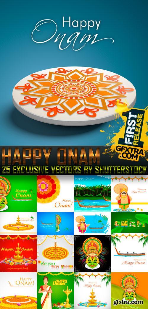 Amazing SS - Happy Onam, 25xEPS