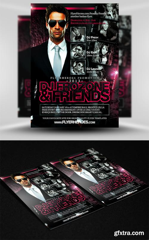 Frozone Flyer Template