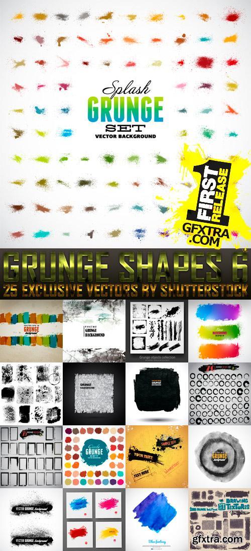 Amazing SS - Grunge Shapes 6, 25xEPS