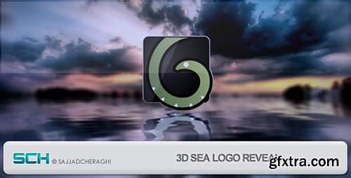 Videohive 3D Sea Logo Reveal