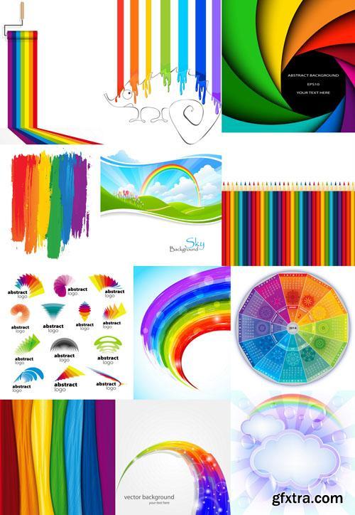 Rainbow collection 25 EPS, AI