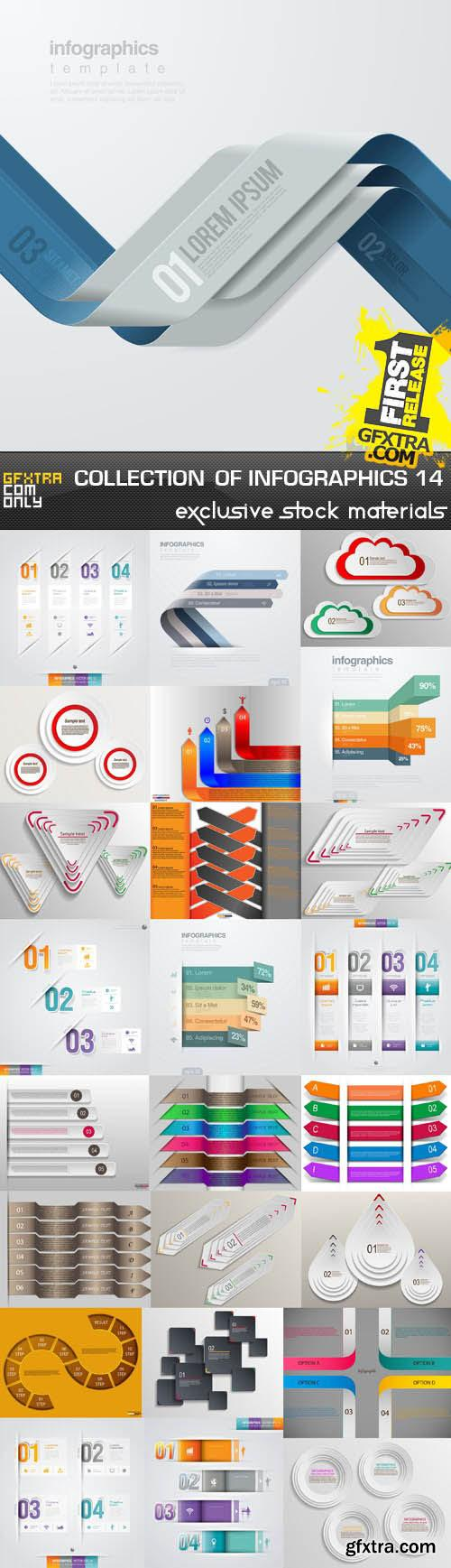 Collection of infographics vol.14
