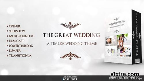 Videohive The Great Wedding Pack