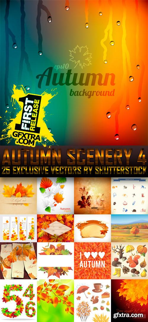 Amazing SS - Autumn Scenery 4, 25xEPS