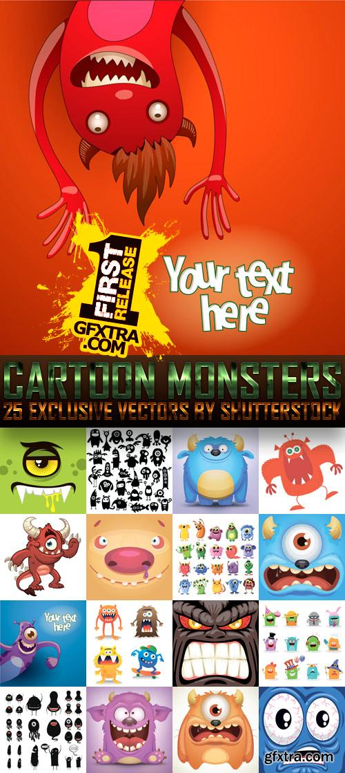 Amazing SS - Cartoon Monsters, 25xEPS