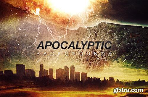 WeGraphics - Apocalyptic Backgrounds