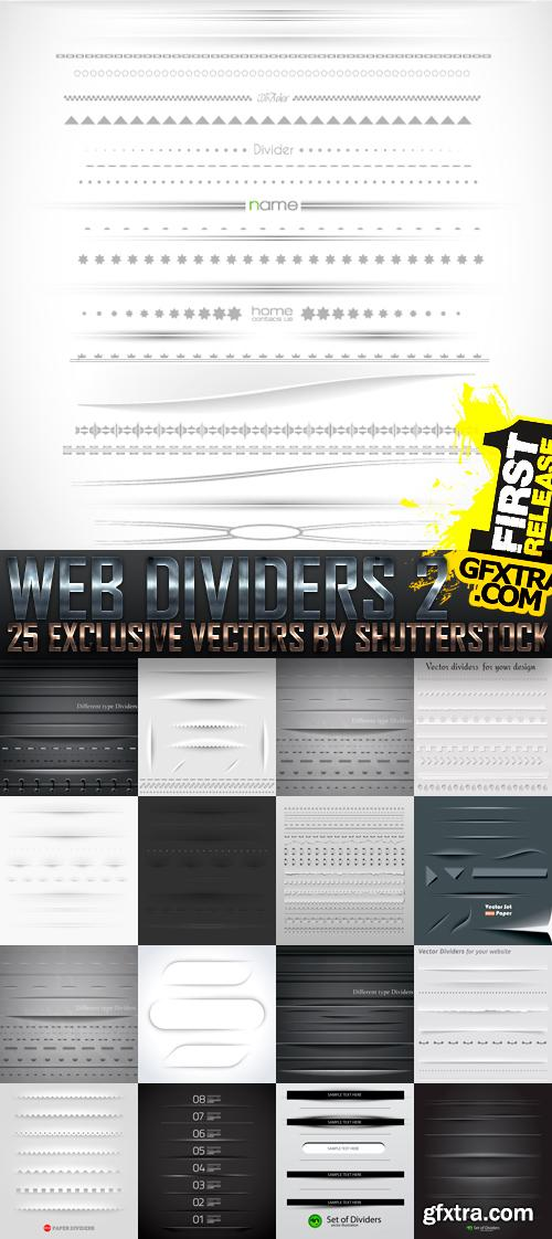 Amazing SS - Web Dividers 2, 25xEPS