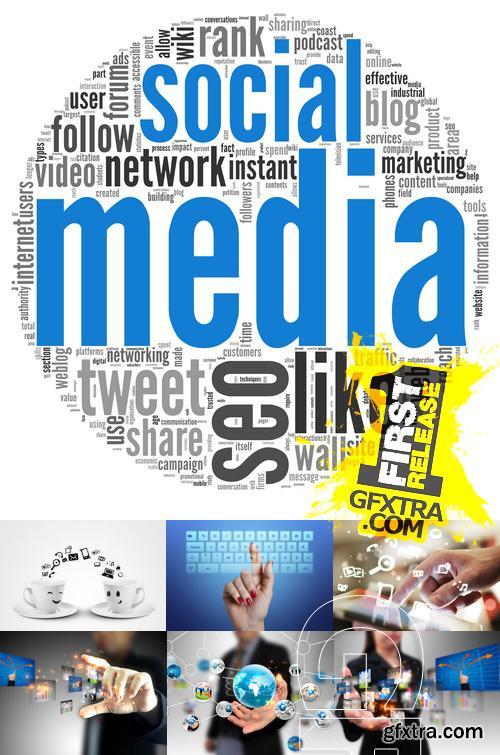Amazing SS - Social media 3, 25xJPGs