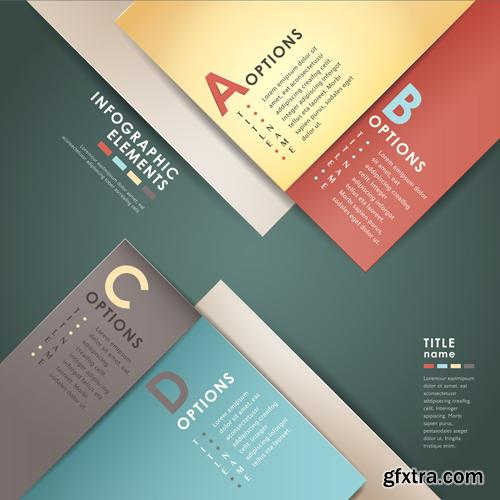 Infographics Collection#16 - 25 Vector