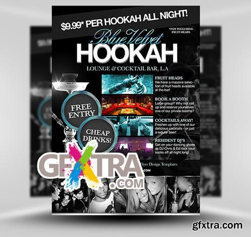 Hookah Lounge Flyer Template