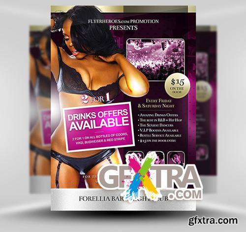 Forellia Flyer Template
