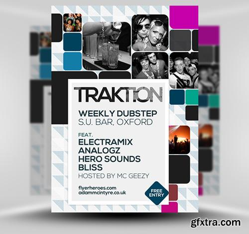 Traktion Flyer Template
