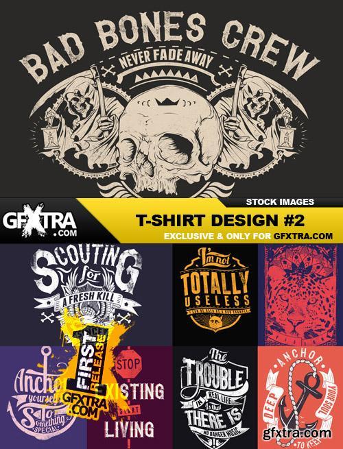 T-Shirt Design #2 - 25xEPS