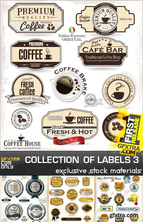 Collection of labels vol.3
