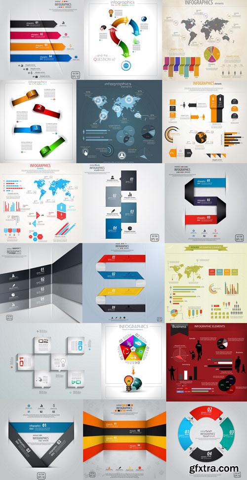 Collection of infographics vol.16