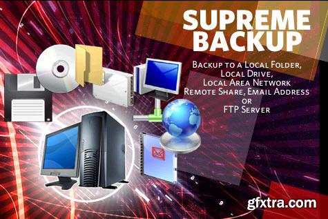 Supreme Backup 3.7 + Portable