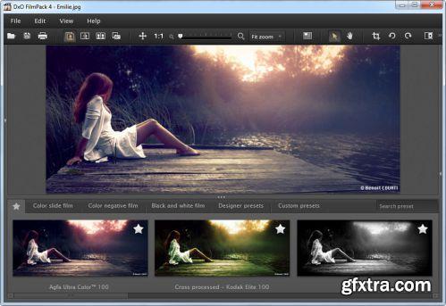 DxO Labs DxO FilmPack Expert 4.1.0 Build 9 Multilingual Portable