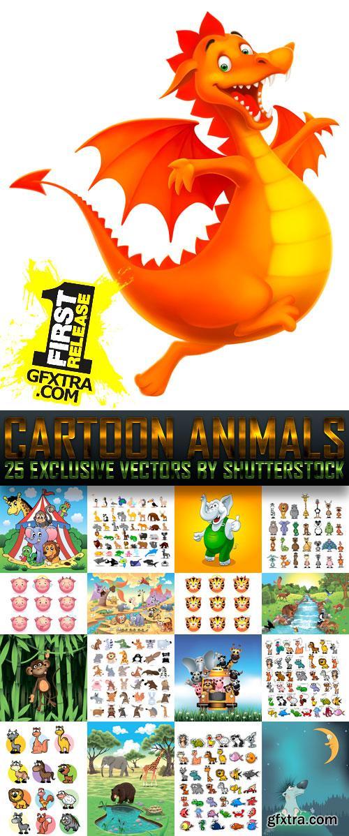 Amazing SS - Cartoon Animals, 25xEPS