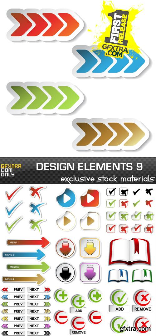 Collection of vector design elements vol.9