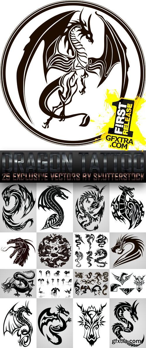 Amazing SS - Dragon Tattoo, 25xEPS